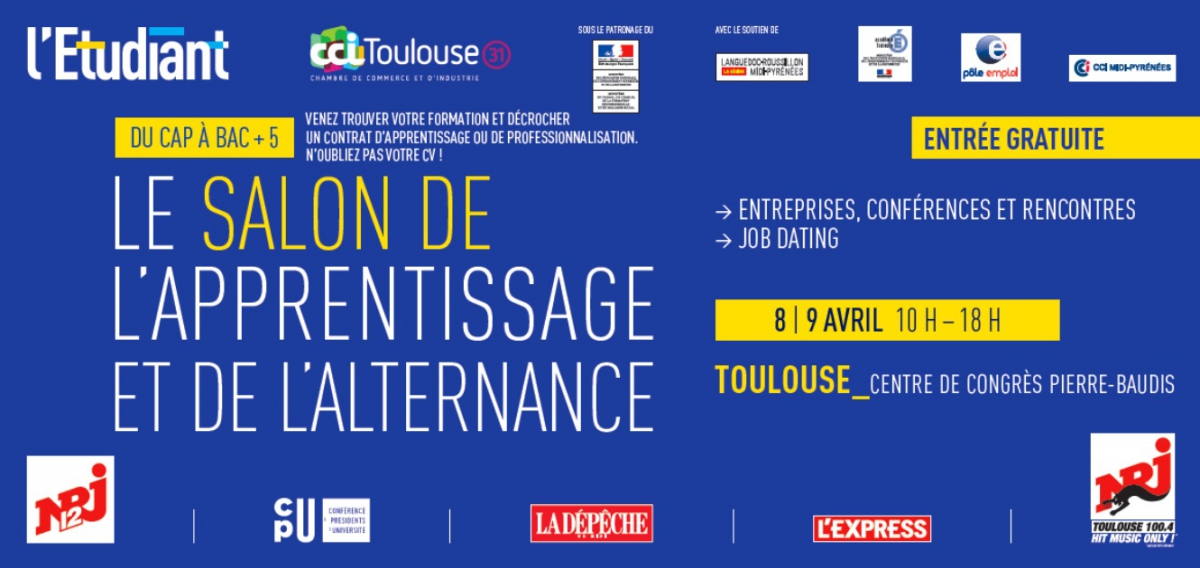 L 39 isteli toulouse au salon de l 39 apprentissage et de l 39 alternance 2016 aftral - Salon de l alternance bordeaux ...