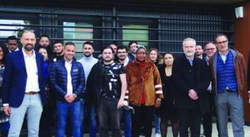 Les Transports PERRENOT ouvre  leur 1ère pépinière d'exploitant à l'ISTELI Lyon