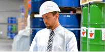Formation e-adr manutention de matières dangereuses avec AFTRAL